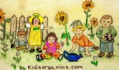 kidsorganics.com children artwork copyright 2002